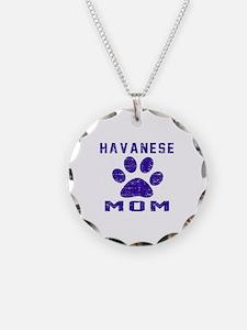 Havanese mom designs Necklace