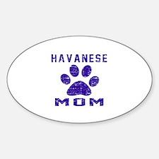 Havanese mom designs Decal