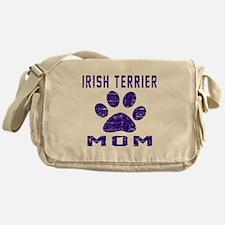 Irish Terrier mom designs Messenger Bag