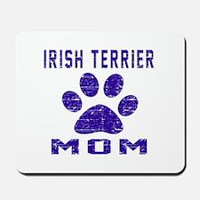 Irish Terrier mom designs Mousepad