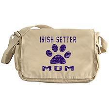 Irish Setter mom designs Messenger Bag