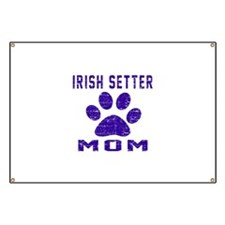Irish Setter mom designs Banner
