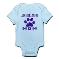 Jack Russell Terrier mom designs Infant Bodysuit
