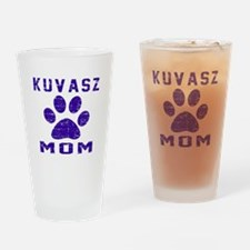 Kuvasz mom designs Drinking Glass