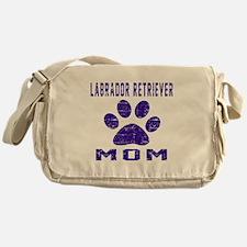 Labrador Retriever mom designs Messenger Bag