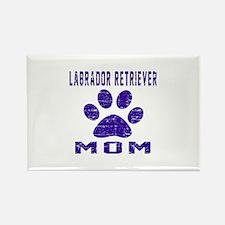 Labrador Retriever mom designs Rectangle Magnet