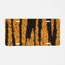 Tiger Stripes Aluminum License Plate