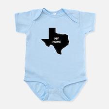 Texas My Home Body Suit