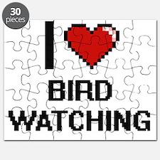 I Love Bird Watching Digital Design Puzzle