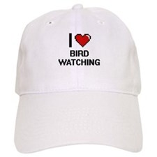 I Love Bird Watching Digital Design Baseball Cap