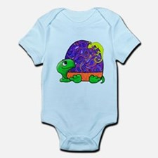 Paisley Turtle and Lizard Body Suit