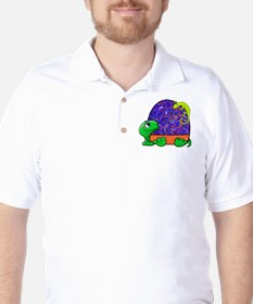 Paisley Turtle and Lizard T-Shirt