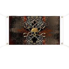 Skull with snakes Banner