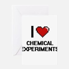 I Love Chemical Experiments Digital Greeting Cards