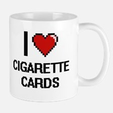 I Love Cigarette Cards Digital Design Mugs