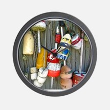 lobster floats 1.jpg Wall Clock