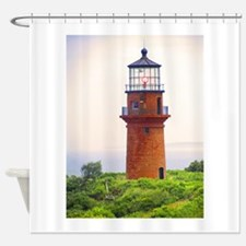 gay head lighthouse.jpg Shower Curtain