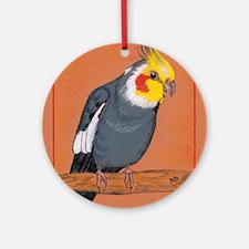 Cockatiel Round Ornament