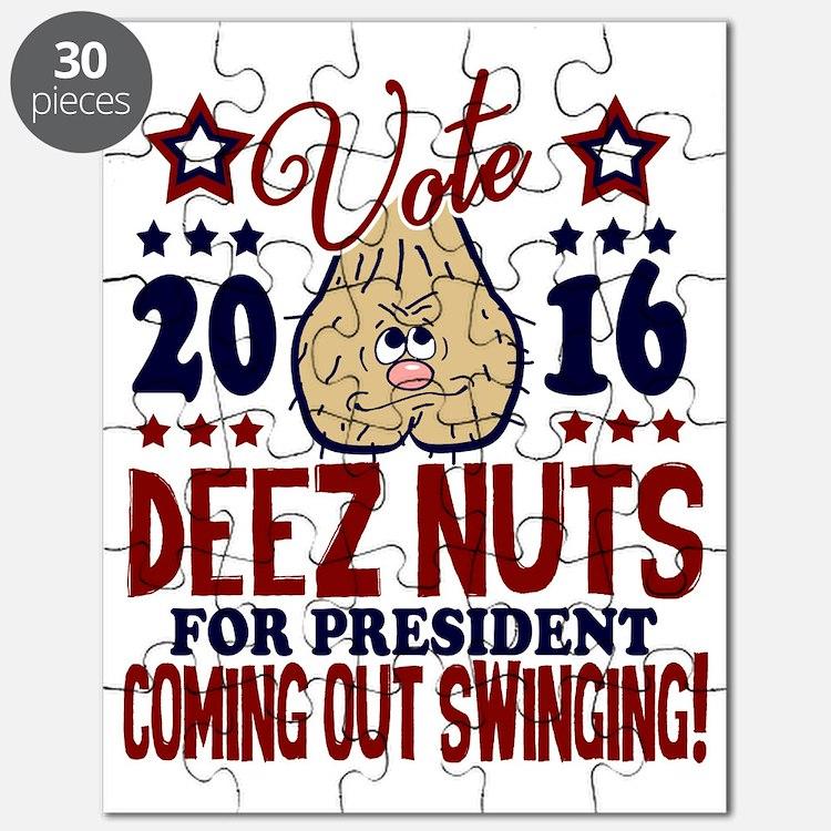 Deez Nuts President 2016 Puzzle