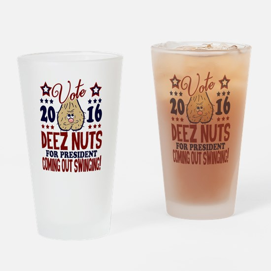 Deez Nuts President 2016 Drinking Glass