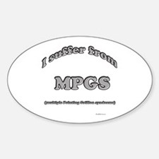 Wirehaired Syndrome Oval Decal