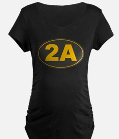 2A Oval Maternity T-Shirt
