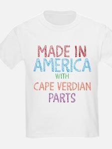 Cape Verdian Parts T-Shirt