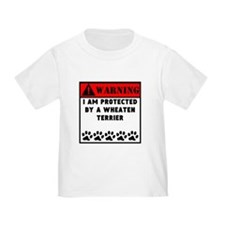 Protected By A Wheaten Terrier T-Shirt