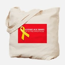 Red Friday's:Support Our Troo Tote Bag