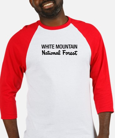 White Mountain National Fores Baseball Jersey