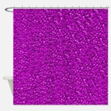 Sparkling Glitter Shower Curtain