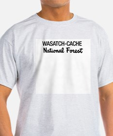 Wasatch-Cache National Forest Ash Grey T-Shirt