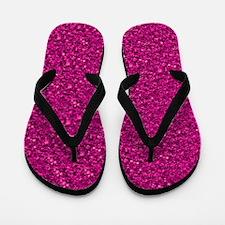 Sparkling Glitter Flip Flops