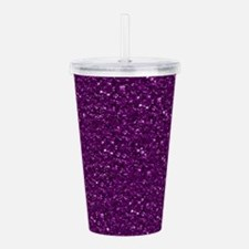Sparkling Glitter, plu Acrylic Double-wall Tumbler
