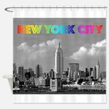 Cool New york taxi cab Shower Curtain