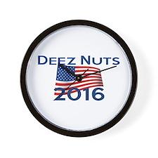 DEEZ NUTS 2016 Wall Clock