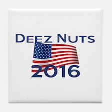 DEEZ NUTS 2016 Tile Coaster