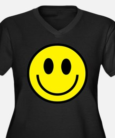 The Classic Yellow Smiley Plus Size T-Shirt