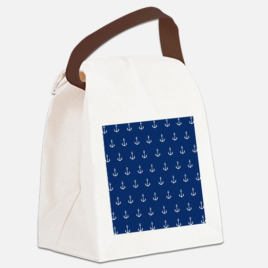 Nautical Elements Canvas Lunch Bag
