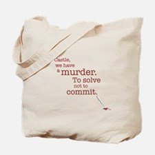 Murder to solve Tote Bag