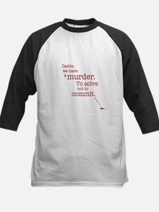 Murder to solve Baseball Jersey