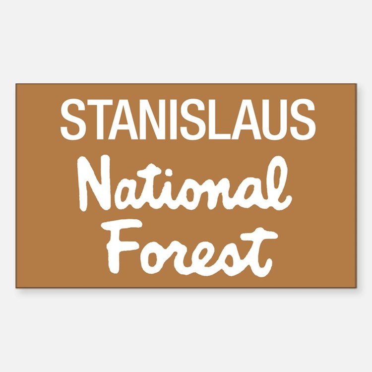 Stanislaus National Forest (Sign) Decal