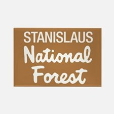 Stanislaus National Forest (Sign) Rectangle Magnet