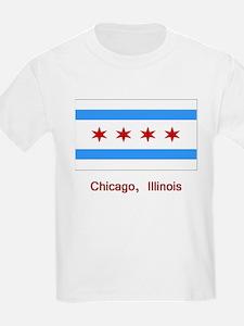 Chicago IL Flag T-Shirt