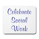 Social work gift Classic Mousepad