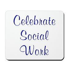 Celebrate SW (blue) Mousepad