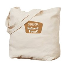 Sequoia National Forest (Sign) Tote Bag