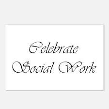 Celebrate SW (black) Postcards (Package of 8)