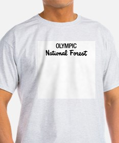 Olympic National Forest Ash Grey T-Shirt