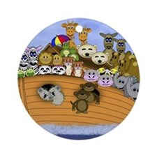 Noahs Ark Small Poster.png Round Ornament